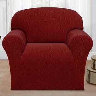 Box Cushion Armchair Slipcover By Ebern Designs