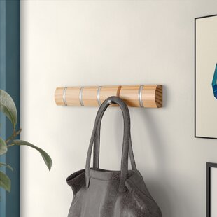 Concealed Coat Hooks Wall Mounted Coat Rack By Symple Stuff