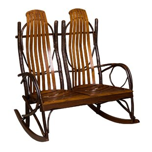 Queener Double Rocking Chair by Loon Peak