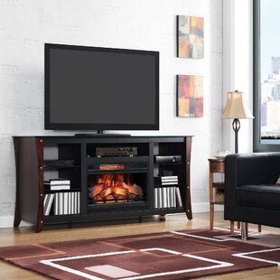 Shop For Landes 66 TV Stand with Electric Fireplace by Red Barrel Studio Reviews (2019) & Buyer's Guide