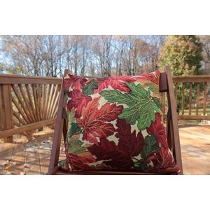 Fall Foliage Throw Pillow Cushion Cover (Set of 2)