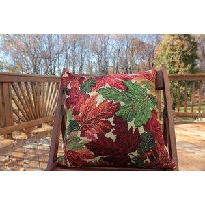 Fall Foliage Throw Pillow Cushion Cover (Set of 2)