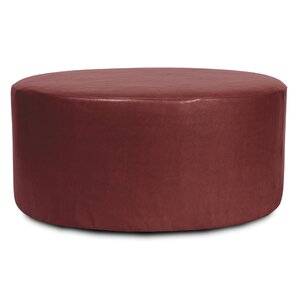Round Polyester Ottoman Slipcover by Orren Ellis