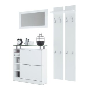 Dolly 3 Piece Hallway Set By Vladon