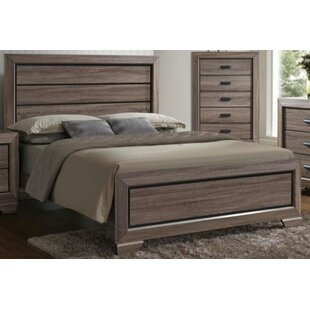 Dunloy Panel Bed