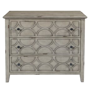 Delma 3 Drawer Accent Chest by..