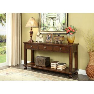 Stenya 3 Drawer Console Table by Darby Home Co