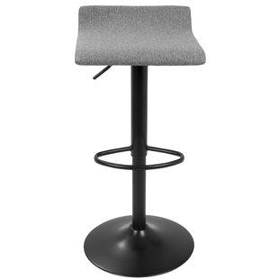 Fincastle Adjustable Height Bar Stool (Se..