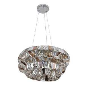 Allegri by Kalco Lighting Gehry 5-Light Crystal Chandelier