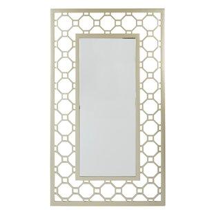 Rectangular Gold Framed Wall Mirror