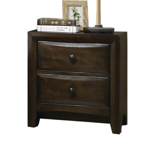 Arabelle 2 Drawer Nightstand