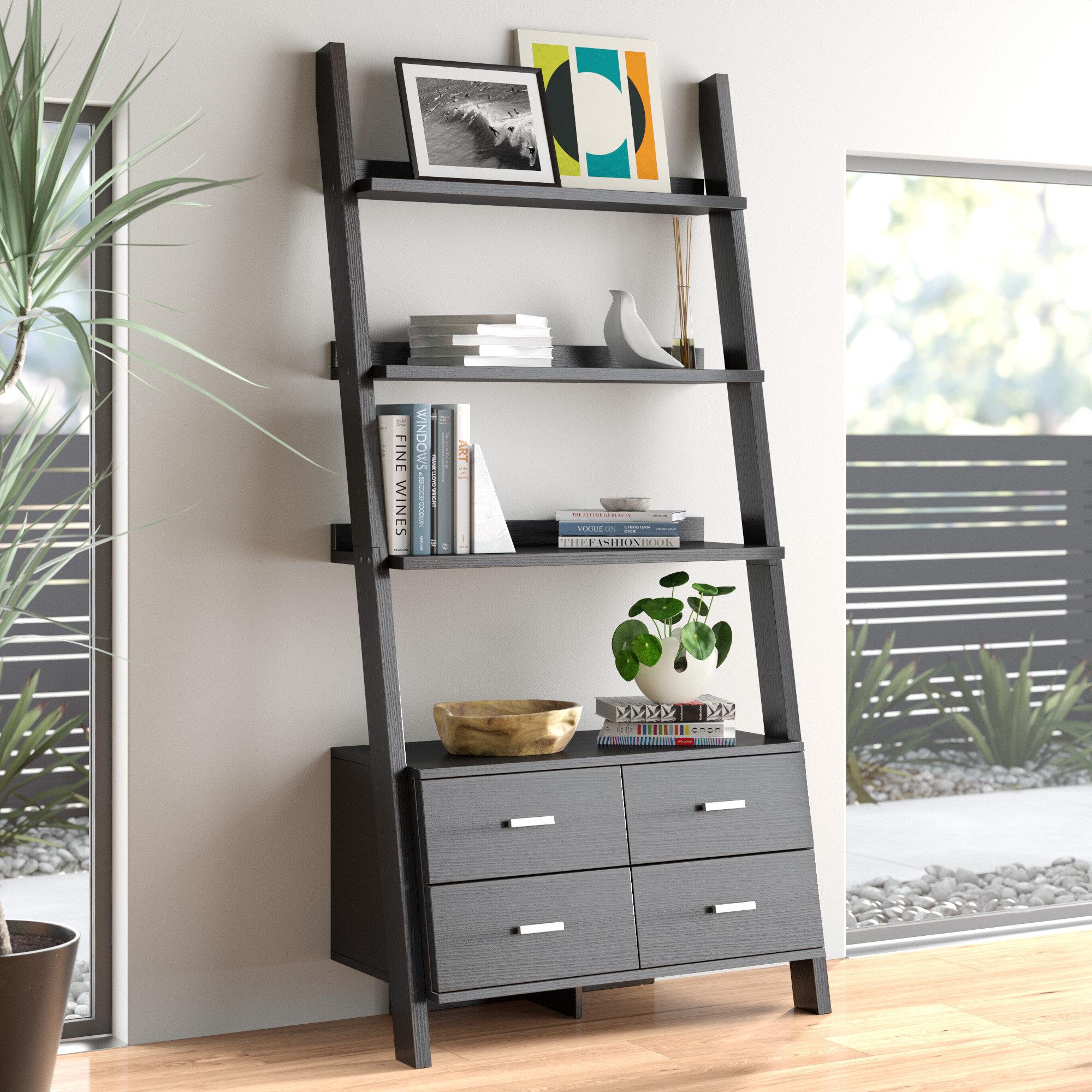 Harrell Ladder Bookcase Reviews Allmodern