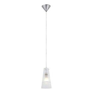 Ebern Designs Ramsha 1-Light Cone Pendant
