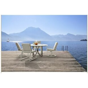 Dani 5 Piece Dining Set Highland Dunes