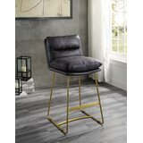 Allegro Bar Stool by 17 Stories