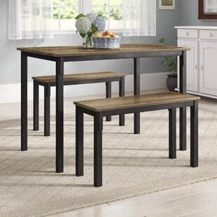 Rossiter 3 Piece Dining Set by Andover Mills