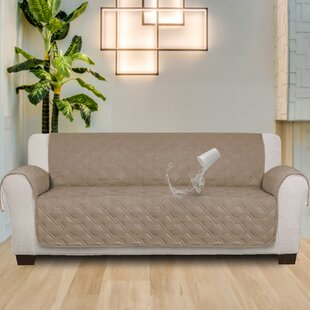 100% Waterproof Non-Slip Box Cushion Sofa Slipcover