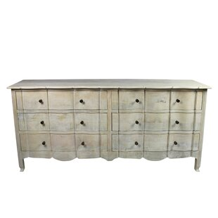 Harsha 6 Drawer Double Dresser