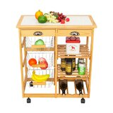 Horacia Kitchen Cart by Winston Porter