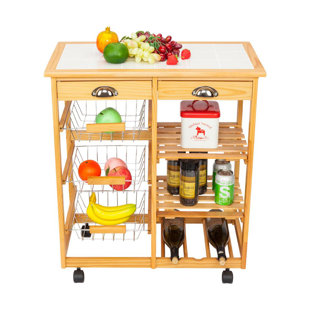 Horacia Kitchen Cart by Winston Porter