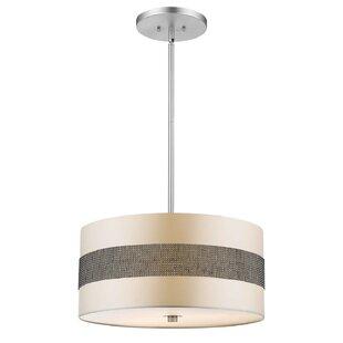 Orren Ellis Greenbury 3-Light Pendant