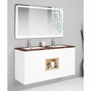 Ephraim 1200mm Wall Hung Double Vanity Unit By Belfry Bathroom