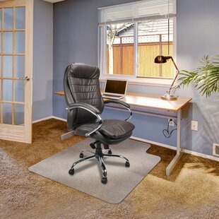 High, Medium And Low Pile Carpet Protector Bevelled Chair Mat By Wayfair Basics