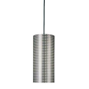 Grid 1-Light Cylinder Pendant by George Kovacs by Minka