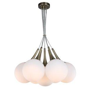 George Oliver Ovellette Tight 7-Light LED Pendant