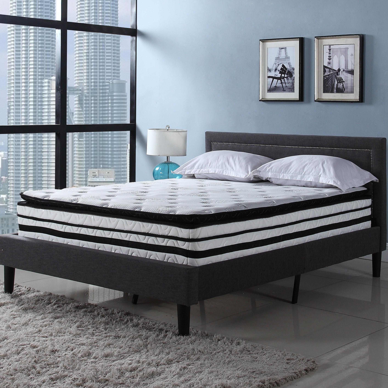 madison home usa 13 medium plush hybrid mattress reviews wayfair