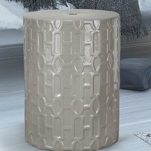 Adeco Trading Modern Drum Ceramic Garden ..