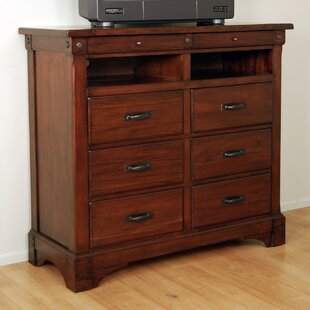 Barter 6 Drawer Media Chest Darby Home Co