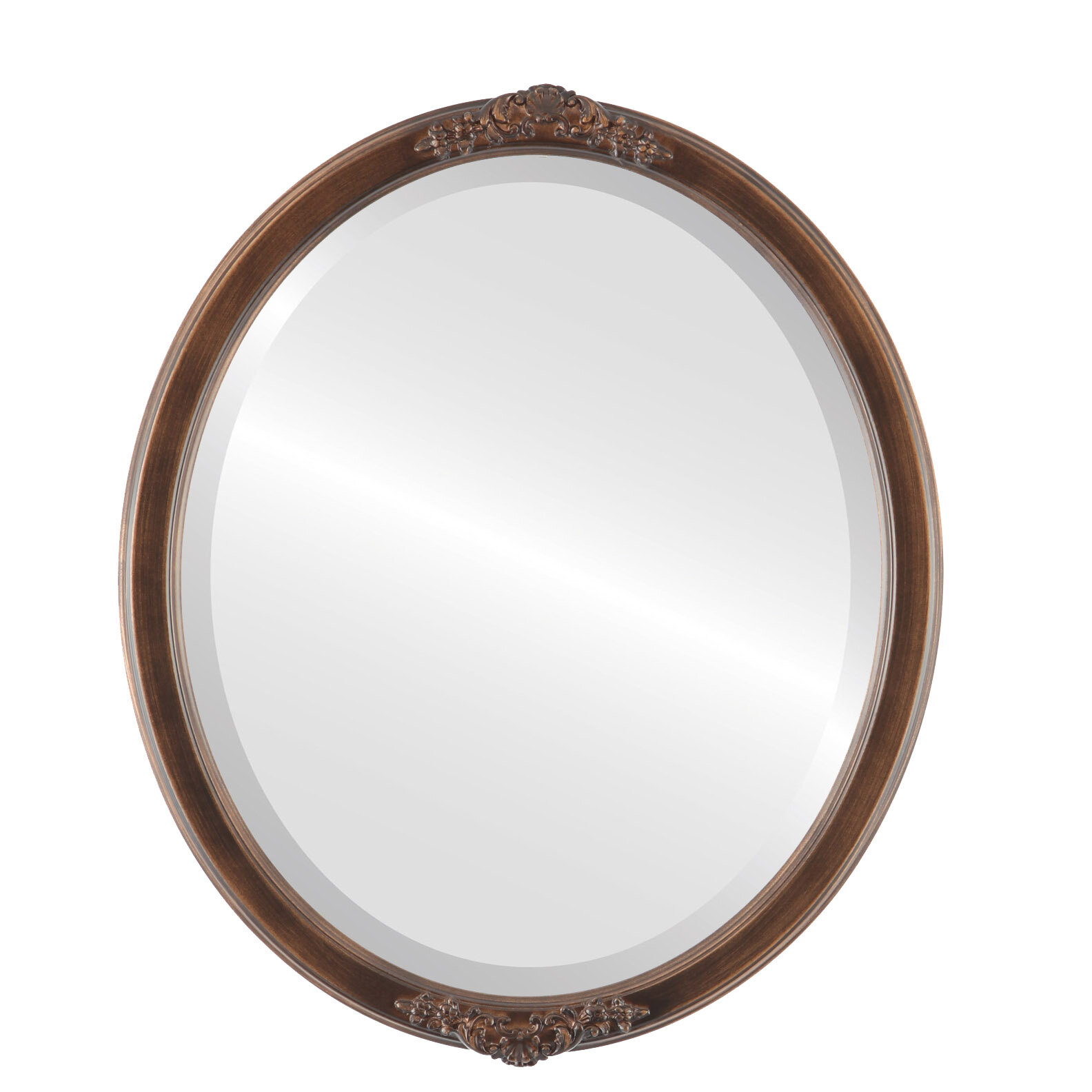 House Of Hampton Wingate Glam Beveled Accent Mirror Wayfair