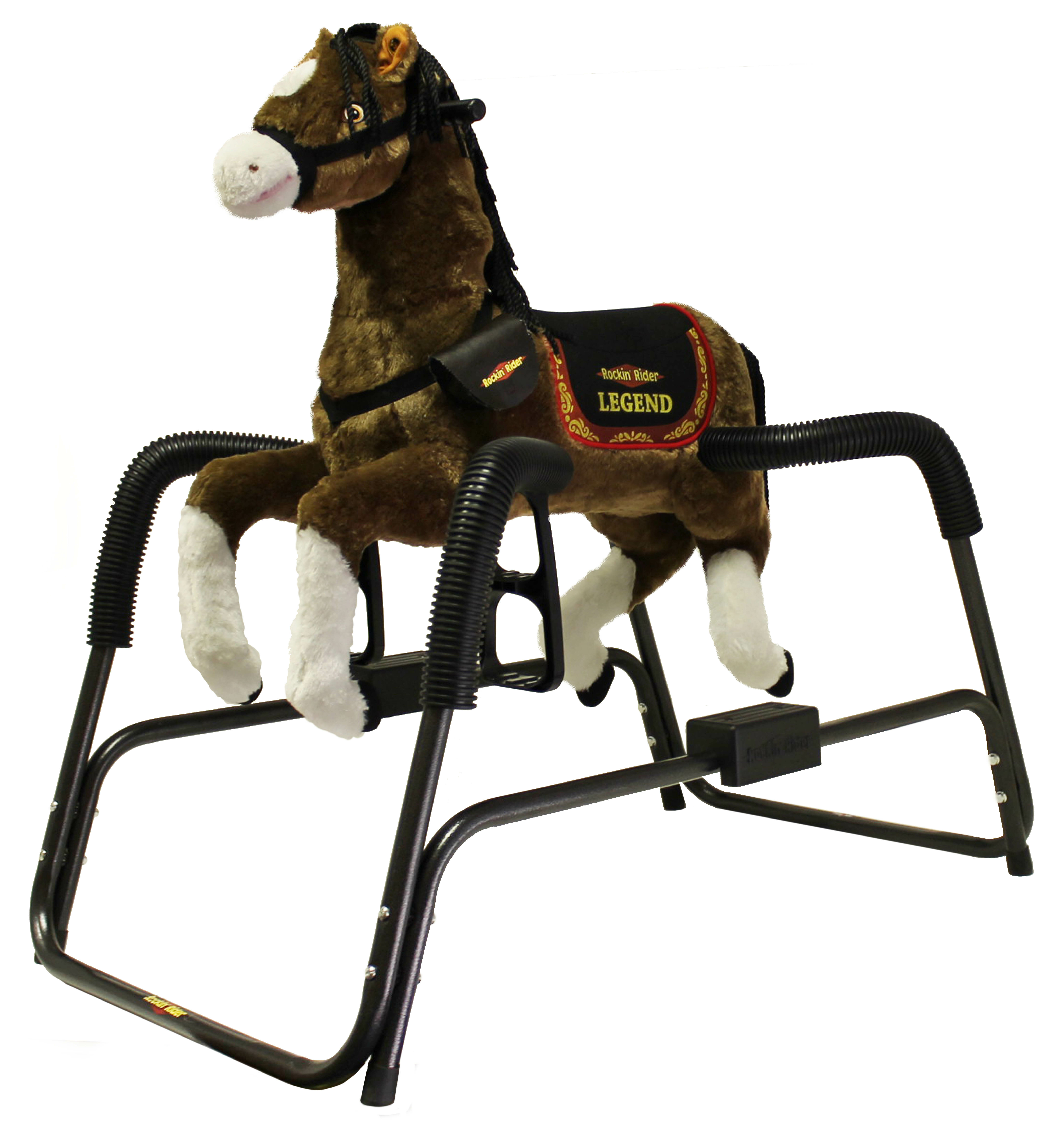 Rockin\' Rider Legend Spring Horse   Wayfair