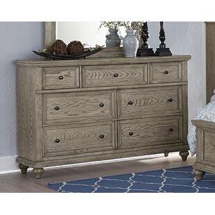 Lorsworth 7 Drawers Double Dresser by Greyleigh