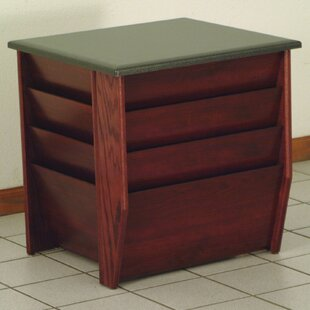 Dakota Wave End Table by Wooden Mallet Discount