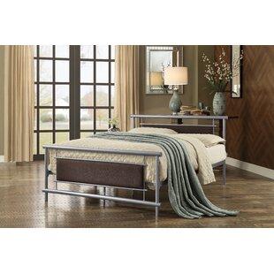 Tickhill Upholstered Metal Platform Bed