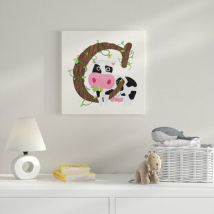 C Canvas Art By HoneyBee Nursery