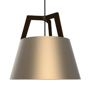 Imber 1-Light Cone Pendant by Cerno