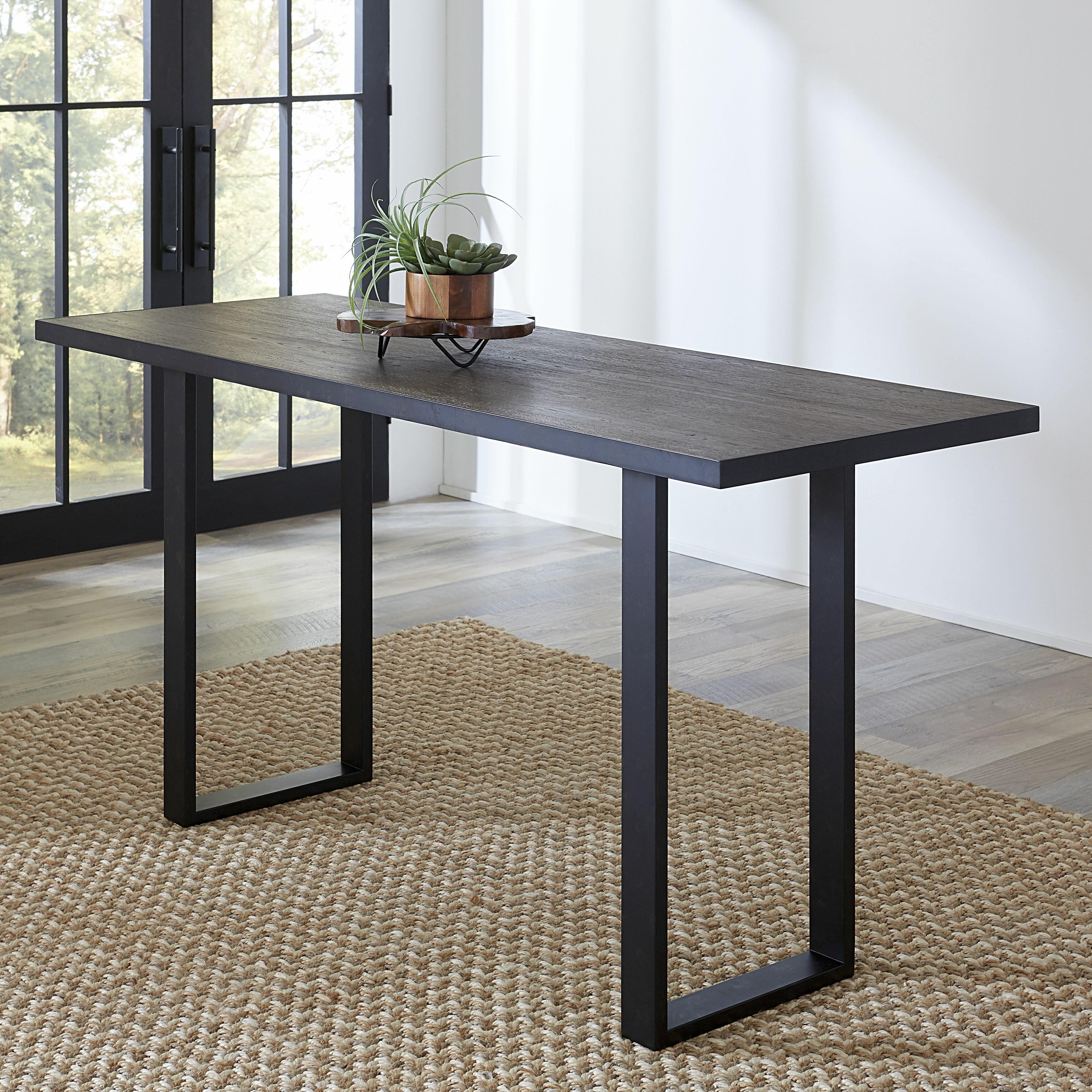 Hudson Counter Height 9'' Solid Oak Dining Table