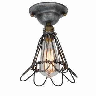 Bianca 1-Light Semi Flush Mount by Gracie Oaks