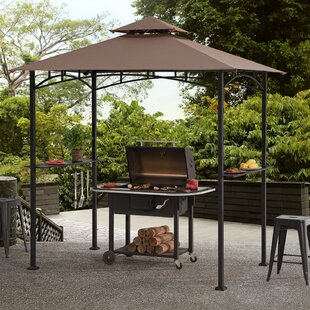 Meijer 5 Ft W X 8 D Metal Grill Gazebo