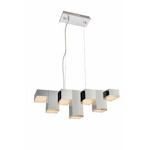 Orren Ellis Corbyn 7-Light LED Kitchen Island Pendant