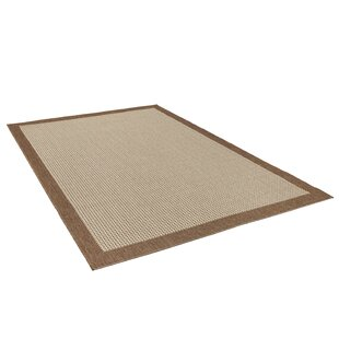 Craut Flatweave Brown Rug By Brambly Cottage