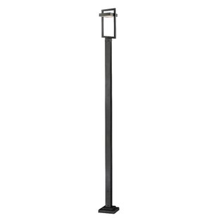 Fortune Outdoor 1-Light LED 117.63 Post Light By Orren Ellis Outdoor Lighting