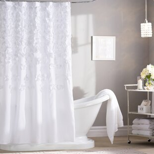 Glam Ruffled Shower Curtains Shower Liners You Ll Love In 2021 Wayfair