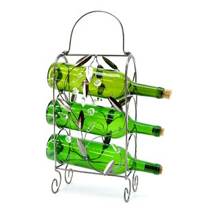 3 Bottle Tabletop Wine Rac..