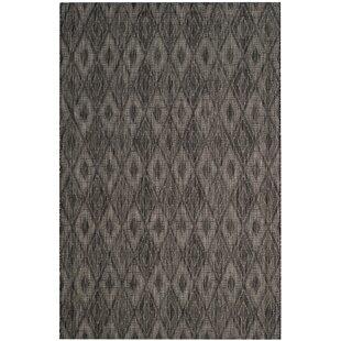 Colon Hand Tufted Black Indoor/Outdoor Rug Image