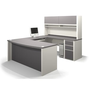 Karla 2 Piece U-shaped Desk Office Suite