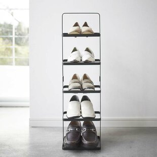 Rebrilliant Espinal 5-Tier 5 Pair Shoe Rack